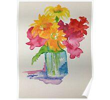 Boquet of Flowers Poster