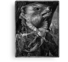 Soldier. Canvas Print