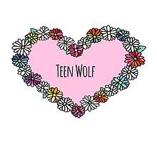 Teen Wolf Heart by foreversarahx