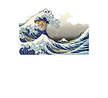 Cookie wave monster Photographic Print