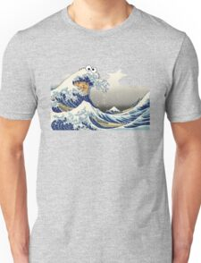 Cookie wave monster Unisex T-Shirt
