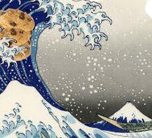 Cookie wave monster Sticker