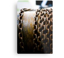 Chained In Metal Print