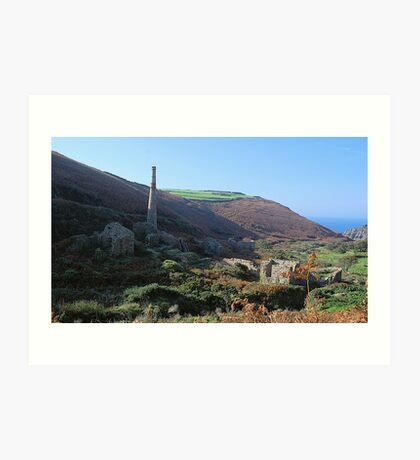 Cot Valley, Cornwall Art Print