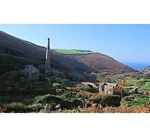 Cot Valley, Cornwall Photographic Print