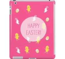 Happy Easter! (Pink) iPad Case/Skin
