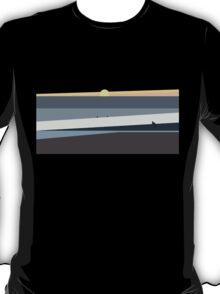 Ocean Sunset in Makaha Hawaii T-Shirt