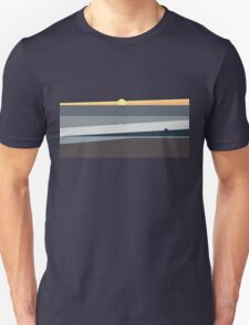 Ocean Sunset in Makaha Hawaii Unisex T-Shirt