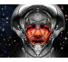 Hey Mr Spaceman Photographic Print