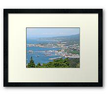 Fukaura Headlands Framed Print