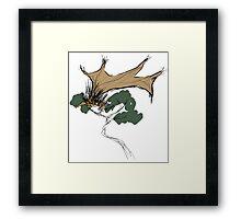 Rare Winged Echidna Framed Print