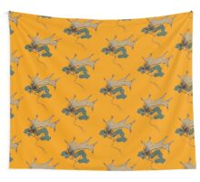 Rare Winged Echidna Wall Tapestry