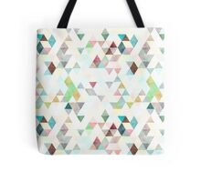 Triangles mixed colors Tote Bag
