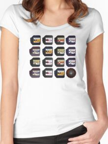 disc film Women's Fitted Scoop T-Shirt