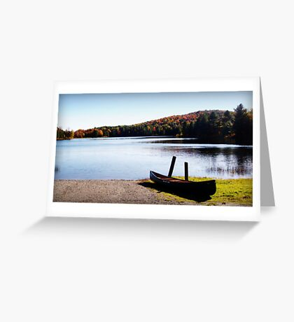 Serenity Lake Greeting Card