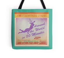 Around the World Record Cover Tote Bag