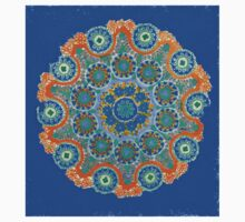 Doily Joy Mandala- Sky High Kids Clothes