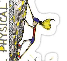 Increase Physical Activity - Rock Climbing 2 Sticker