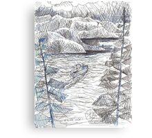 BOAT TRIP(C05.15.2012) Canvas Print