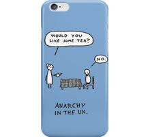 Anarchy In the Uk iPhone Case/Skin