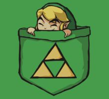 Legend of Zelda - Pocket Link One Piece - Short Sleeve