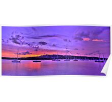 Lavender Blush - Newport - The HDR Experience Poster