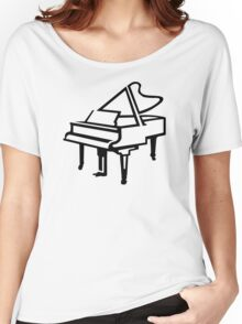 Grand piano Women's Relaxed Fit T-Shirt
