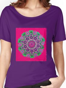 Doily Joy Mandala- Pure Joy Women's Relaxed Fit T-Shirt