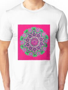 Doily Joy Mandala- Pure Joy Unisex T-Shirt