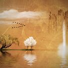 Japanese landscape by Christina Brundage