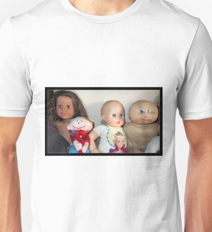Five Lovely Dolls Unisex T-Shirt