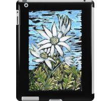 Flannel Flower ~ Healing & Calm  iPad Case/Skin