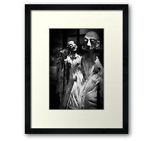 In the Crowd Framed Print