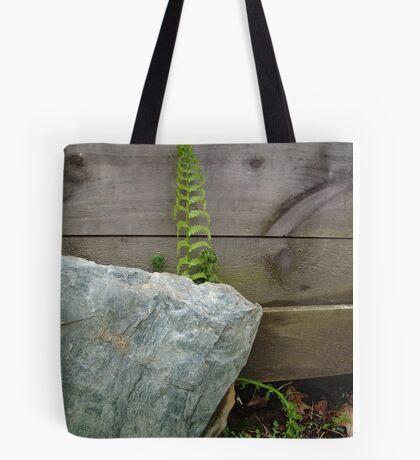 Fern and Rock Tote Bag