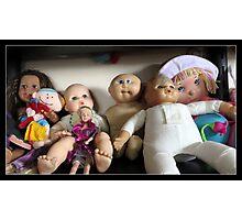 Seven Lovely Dolls Photographic Print