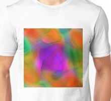 """ Sunset. Pure sky, the orange disk is tangent on the horizon""  Unisex T-Shirt"