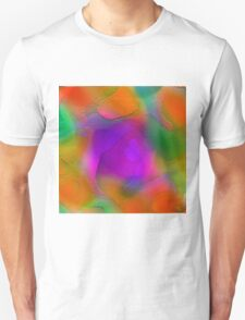 """"""" Sunset. Pure sky, the orange disk is tangent on the horizon""""  T-Shirt"""