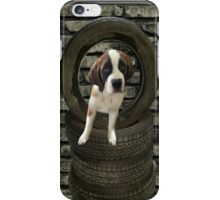 SOMETIME ONE TIRES OF THE OBSTACLES WE GO THROUGH IN LIFE...SAINT BERNARD PUPPY..PILLOWS,TOTE BAGS,SAMSUNG CASES,ECT iPhone Case/Skin