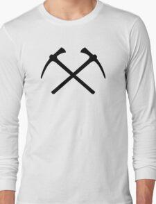 Climbing picks axe Long Sleeve T-Shirt