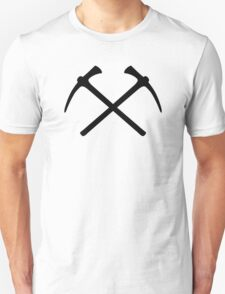 Climbing picks axe Unisex T-Shirt