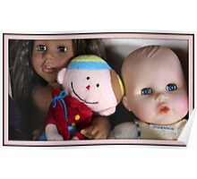 three lovely dolls Poster