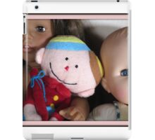 three lovely dolls iPad Case/Skin