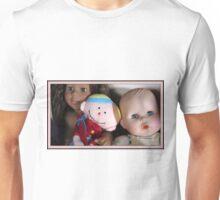 three lovely dolls Unisex T-Shirt