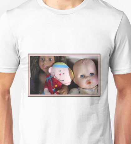 three lovely dolls Unisex T-Shirt