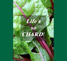 Vegetable Geek Humor Swiss Chard Organic Veggies Womens Fitted T-Shirt