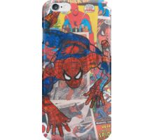 Vintage Comic Spiderman iPhone Case/Skin