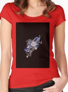 Retro Vector Women's Fitted Scoop T-Shirt