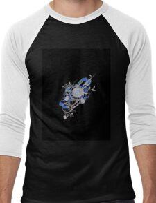 Retro Vector Men's Baseball ¾ T-Shirt