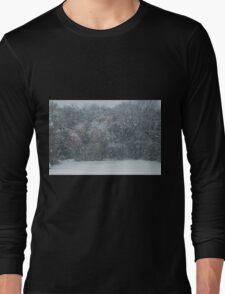 Fall Snowstorm Long Sleeve T-Shirt
