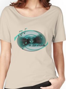 Eye of the Sounds Women's Relaxed Fit T-Shirt